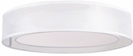 Kuzco FM11420-WH Covina Contemporary White LED 19.625  Overhead Light Fixture
