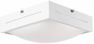 Kuzco FM11513-WH Contemporary White LED 12.6  Ceiling Lighting