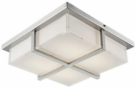 Kuzco FM2413-BN Brushed Nickel LED 13  Flush Ceiling Light Fixture