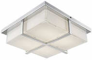 Kuzco FM2413-CH Chrome LED 13  Flush Mount Ceiling Light Fixture