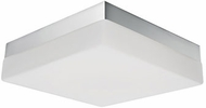 Kuzco FM3311-CH Modern Chrome LED 11  Flush Lighting