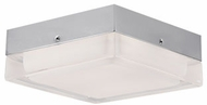 Kuzco FM3405-CH Modern Chrome LED 5.25  Overhead Lighting