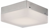 Kuzco FM3409-BN Contemporary Brushed Nickel LED 9  Flush Mount Light Fixture