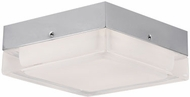 Kuzco FM3409-CH Modern Chrome LED 9  Flush Mount Lighting Fixture