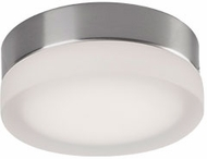Kuzco FM3506-BN Bedford Contemporary Brushed Nickel LED 6  Flush Ceiling Light Fixture