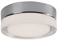 Kuzco FM3506-CH Bedford Modern Chrome LED 6  Flush Mount Ceiling Light Fixture