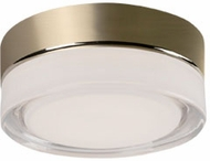 Kuzco FM3506-VB Bedford Contemporary Vintage Brass LED 6  Home Ceiling Lighting