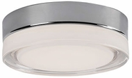 Kuzco FM3511-CH Bedford Contemporary Chrome LED 11  Overhead Lighting Fixture