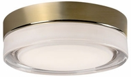 Kuzco FM3511-VB Bedford Modern Vintage Brass LED 11  Ceiling Lighting