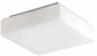 Kuzco FM3709-WH Contemporary White LED 8.5  Ceiling Light