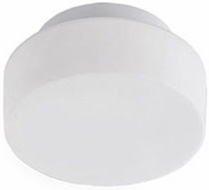 Kuzco FM3808-WH Contemporary White LED 8  Ceiling Lighting Fixture