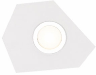Kuzco FM4201-WH-CH Organica Contemporary White / Chrome LED Overhead Lighting