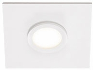 Kuzco FM4209-WH-WH Broadway Modern White / White LED Flush Ceiling Light Fixture