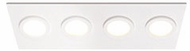 Kuzco FM4225-WH-WH Broadway Modern White / White LED Home Ceiling Lighting