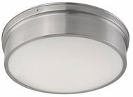 Kuzco FM5011-BN Contemporary Brushed Nickel LED 11  Flush Mount Lighting