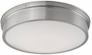 Kuzco FM5017-BN Modern Brushed Nickel LED 16.75  Overhead Lighting