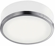 Kuzco FM6010-BN Contemporary Brushed Nickel LED 10.25  Flush Ceiling Light Fixture