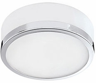 Kuzco FM6010-CH Modern Chrome LED 10.25  Flush Mount Ceiling Light Fixture