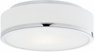 Kuzco FM6012-CH Charlie Modern Chrome LED Ceiling Lighting Fixture