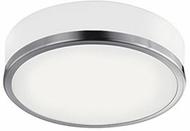 Kuzco FM6013-BN Contemporary Brushed Nickel LED 11.5  Home Ceiling Lighting