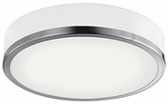 Kuzco FM6016-BN Contemporary Brushed Nickel LED 16  Overhead Lighting Fixture