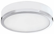 Kuzco FM6016-CH Modern Chrome LED 16  Ceiling Lighting