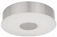 Kuzco FM7610-BN Brushed Nickel LED 9.75  Flush Mount Light Fixture