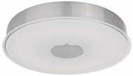 Kuzco FM7616-BN Brushed Nickel LED 15.5  Flush Mount Lighting Fixture