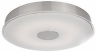 Kuzco FM7620-BN Brushed Nickel LED 19.5  Flush Ceiling Light Fixture