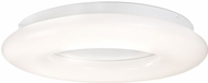 Kuzco FM80712 Cumulus Contemporary White LED 12  Ceiling Light Fixture