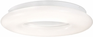 Kuzco FM80718 Cumulus Modern White LED 18  Flush Lighting