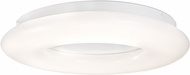 Kuzco FM80724 Cumulus Contemporary White LED 24  Flush Mount Lighting