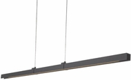 Kuzco LP11252-GH Alpha Contemporary Graphite LED 51.2  Island Light Fixture