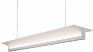 Kuzco LP12945-WH Modern White LED 45.25  Island Light Fixture