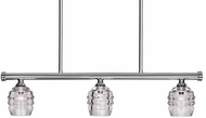 Kuzco LP52128-CH Honeycomb Contemporary Chrome LED 27.5  Island Light Fixture