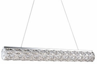 Kuzco LP7837 Solaris Chrome LED 36.67  Island Light Fixture