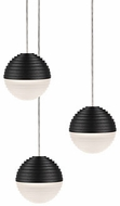 Kuzco MP10503-BK Supernova Modern Black LED Multi Pendant Light
