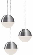 Kuzco MP10503-BN Supernova Contemporary Brushed Nickel LED Multi Lighting Pendant