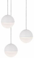 Kuzco MP10503-WH Supernova Modern White LED Multi Pendant Lamp