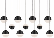 Kuzco MP10511-BK Supernova Modern Black LED Multi Drop Ceiling Lighting