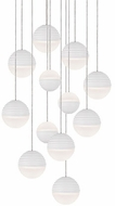 Kuzco MP10512-WH Supernova Contemporary White LED Multi Pendant Lighting
