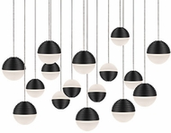 Kuzco MP10516-BK Supernova Modern Black LED Multi Pendant Light