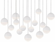 Kuzco MP10516-WH Supernova Modern White LED Multi Pendant Lamp