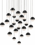 Kuzco MP10524-BK Supernova Contemporary Black LED Multi Hanging Lamp