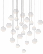 Kuzco MP10524-WH Supernova Contemporary White LED Multi Pendant Light Fixture