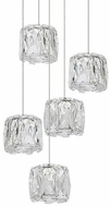 Kuzco MP7805 Chrome LED Multi Pendant Lighting