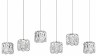 Kuzco MP7806 Chrome LED Multi Pendant Light