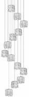 Kuzco MP7813 Chrome LED Multi Pendant Lamp