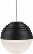 Kuzco PD10501-BK Supernova Modern Black LED Mini Pendant Light Fixture