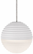 Kuzco PD10501-WH Supernova Modern White LED Mini Hanging Pendant Lighting